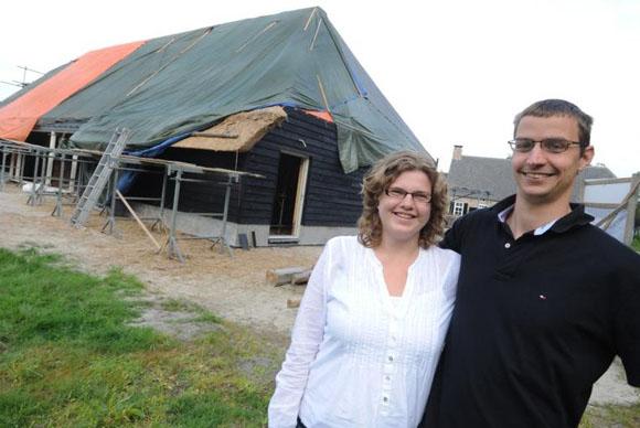 Vlaamse Schuur Bouwen : Oome de man architecten vlaamse schuur wordt woonhuis