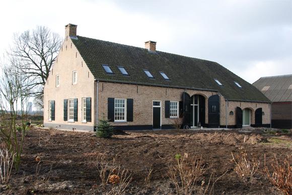 Oome de man architecten restauratie etten leur for Boerderijen te koop in brabant